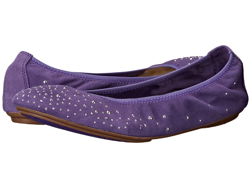 Hush Puppies - Lolly Chaste (Purple Suede) Women's Flat Shoes