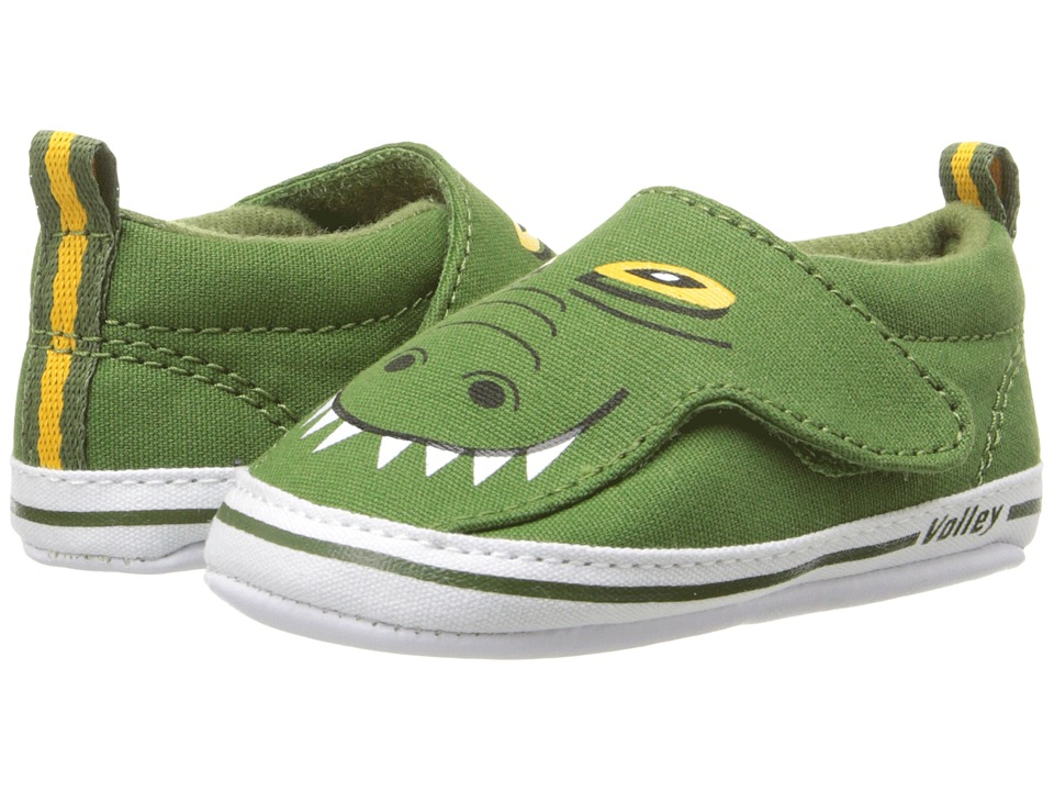 Volley Australia - My First Slip-On (Infant/Toddler) (Crocodile) Men's Shoes