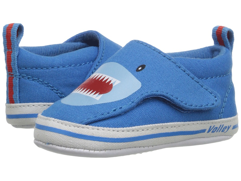 Volley Australia - My First Slip-On (Infant/Toddler) (Sharks) Men's Shoes