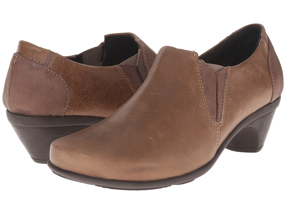 Naot Footwear - Express (Brown Leather Combo) High Heels