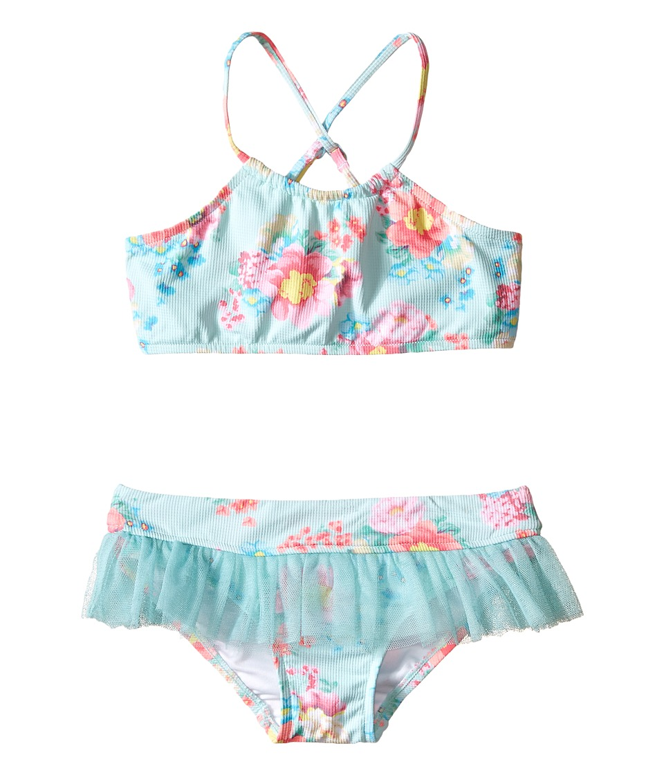 Seafolly Kids - Spring Bloom Tankini (Infant/Toddler/Little Kids) (Multi Floral) Girl's Swimwear