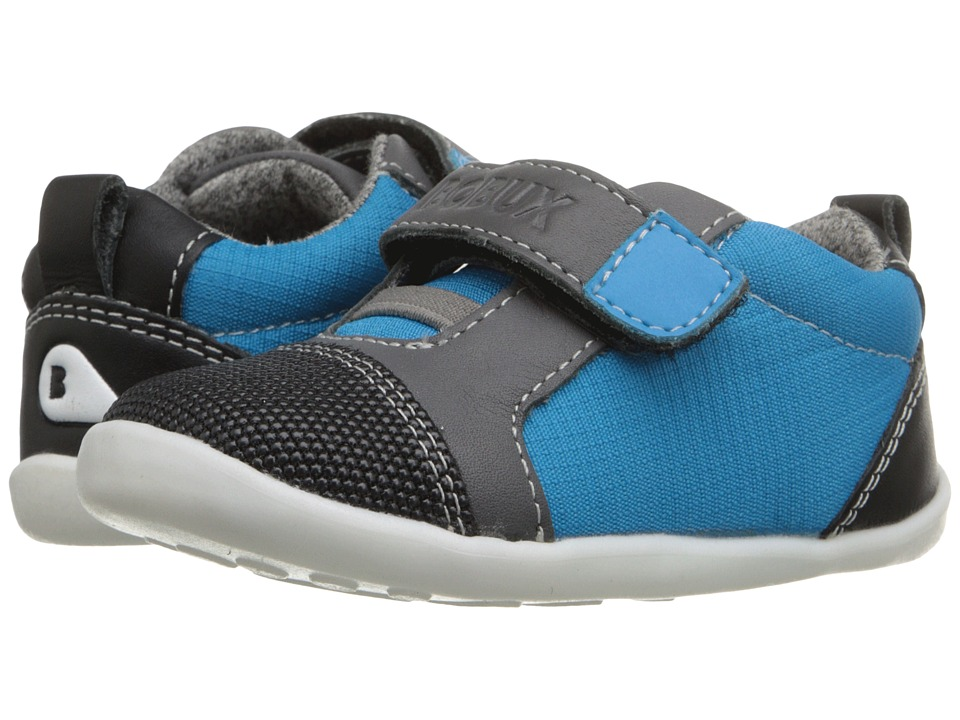 Bobux Kids - Step-Up Classic Nano (Infant/Toddler) (Blue/Black) Boy's Shoes