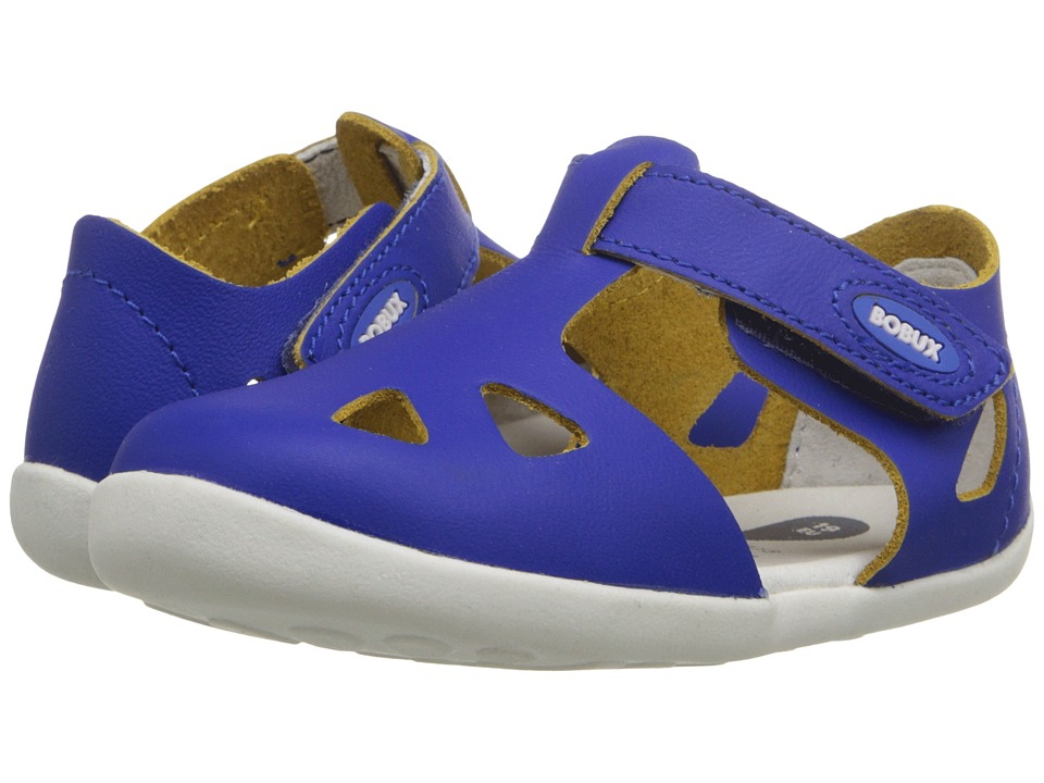 Bobux Kids - Step-Up Classic Zap (Infant/Toddler) (Blue) Girl's Shoes