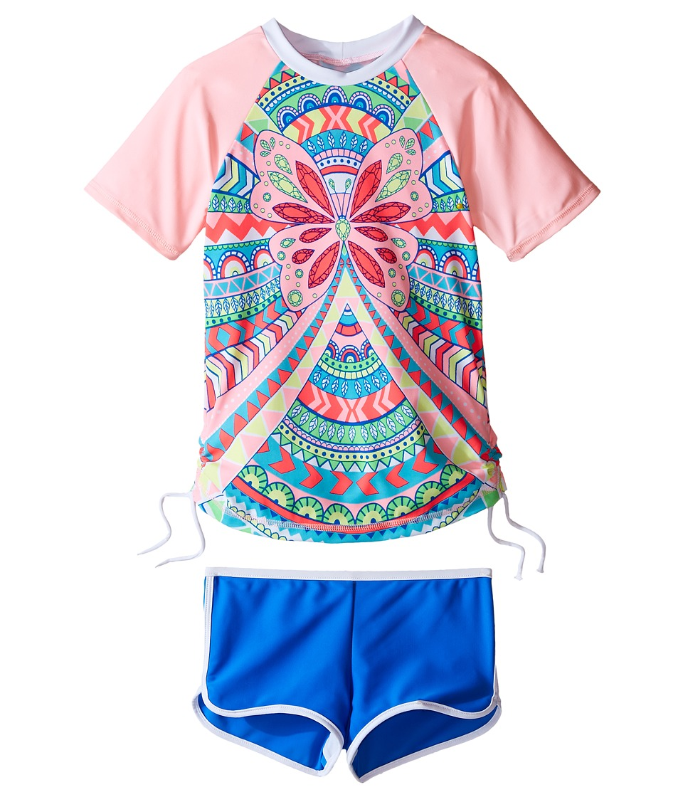 Seafolly Kids - Jewel Cove Sunvest Set (Toddler/Little Kids) (Multi) Girl's Swimwear Sets