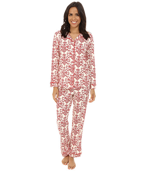 BedHead - Classic Stretch PJ Set (Candy Canes) Women's Pajama Sets