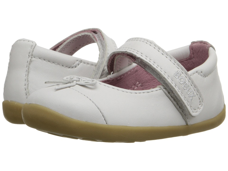 Bobux Kids - Step-Up Classic Swing (Infant/Toddler) (White) Girl's Shoes