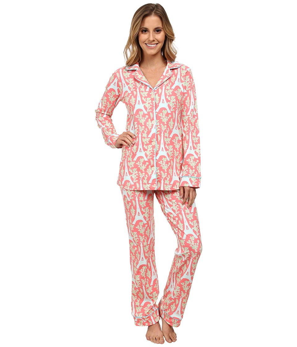 BedHead - Classic Stretch PJ Set (Royal Eiffel) Women's Pajama Sets