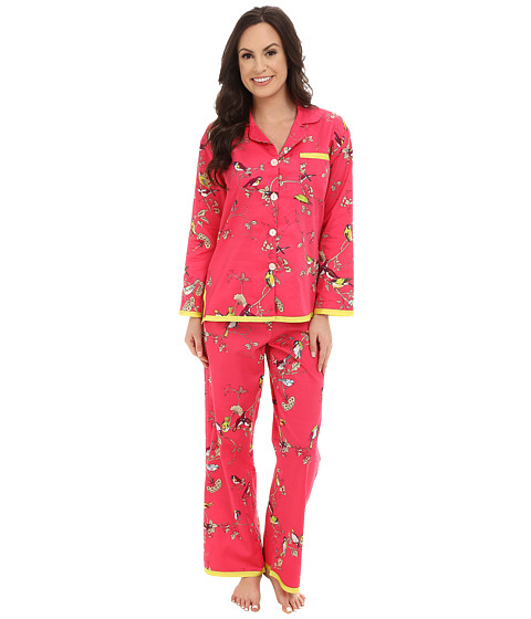BedHead - Ribbon Birds Branches PJ Set (Birds & Branches) Women