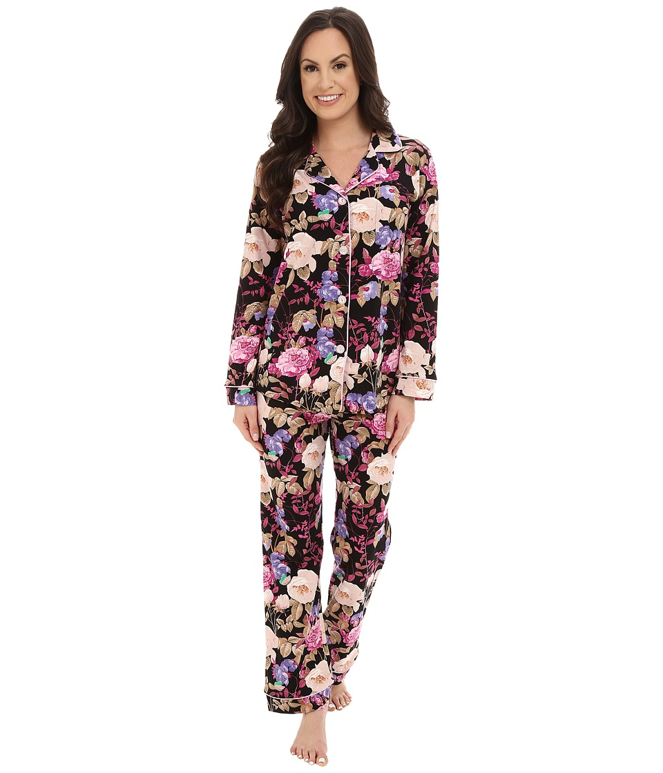 BedHead - Classic Noir Closet Romantic PJ Set (Noir Closet Romantic) Women's Pajama Sets
