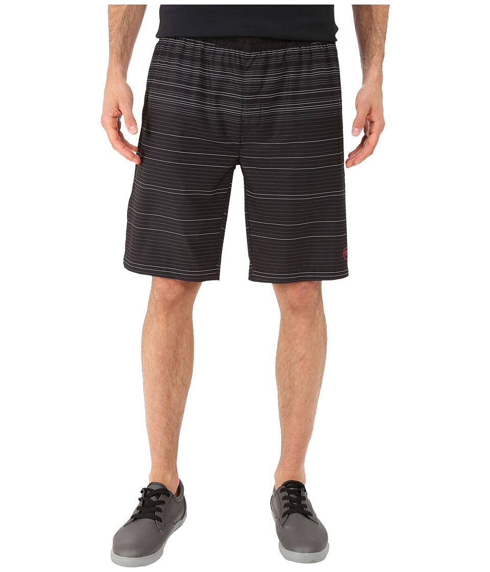 TravisMathew - RED Club 101 Shorts (Black) Men's Shorts