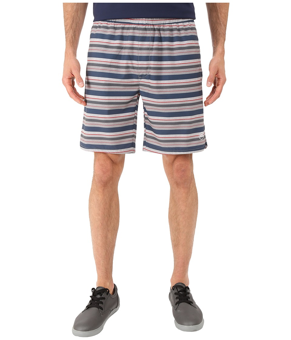 TravisMathew - RED Mr. Mills Shorts (Heather Griffin) Men's Shorts