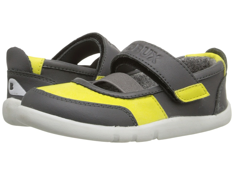 Bobux Kids - I-Walk Street Vitra (Toddler) (Yellow/Gray) Girl's Shoes