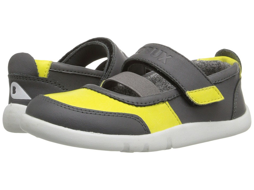 Bobux Kids - I-Walk Street Vitra (Toddler/Little Kid) (Yellow/Gray) Girl's Shoes