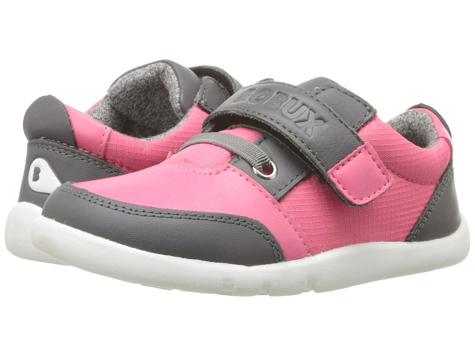 Bobux Kids - I-Walk Street Deca (Toddler) (Fuchsia/Gray) Girl's Shoes