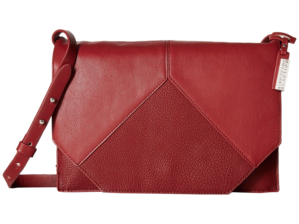 Kenneth Cole Reaction - Easy Peasy Crossbody (Bright Red) Cross Body Handbags