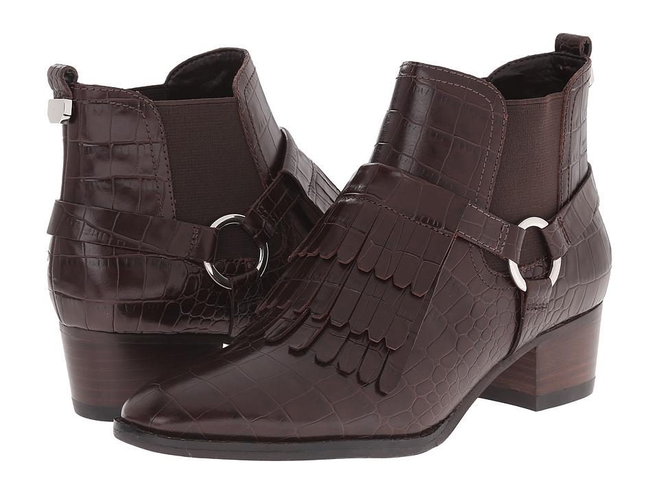 Marc Fisher LTD - Rayna (Chestnut/Chestnut Luanda Croco) Women's Pull-on Boots