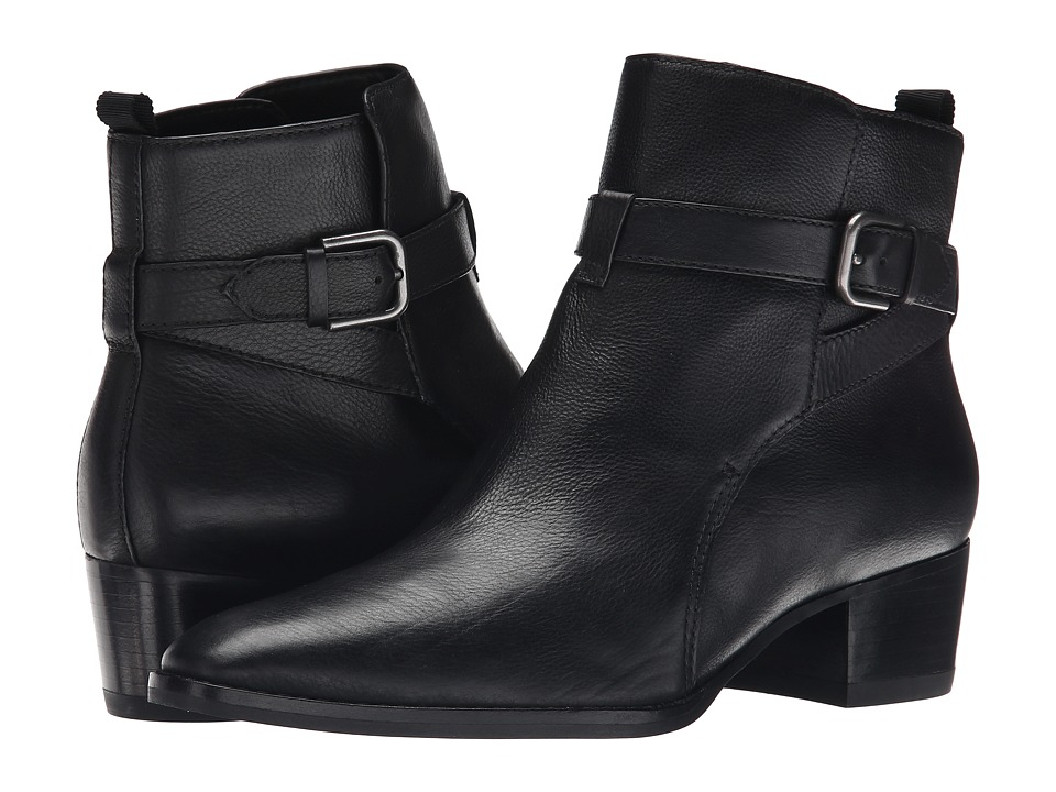 Marc Fisher LTD - Razzle (Black Leather) Women's Dress Pull-on Boots