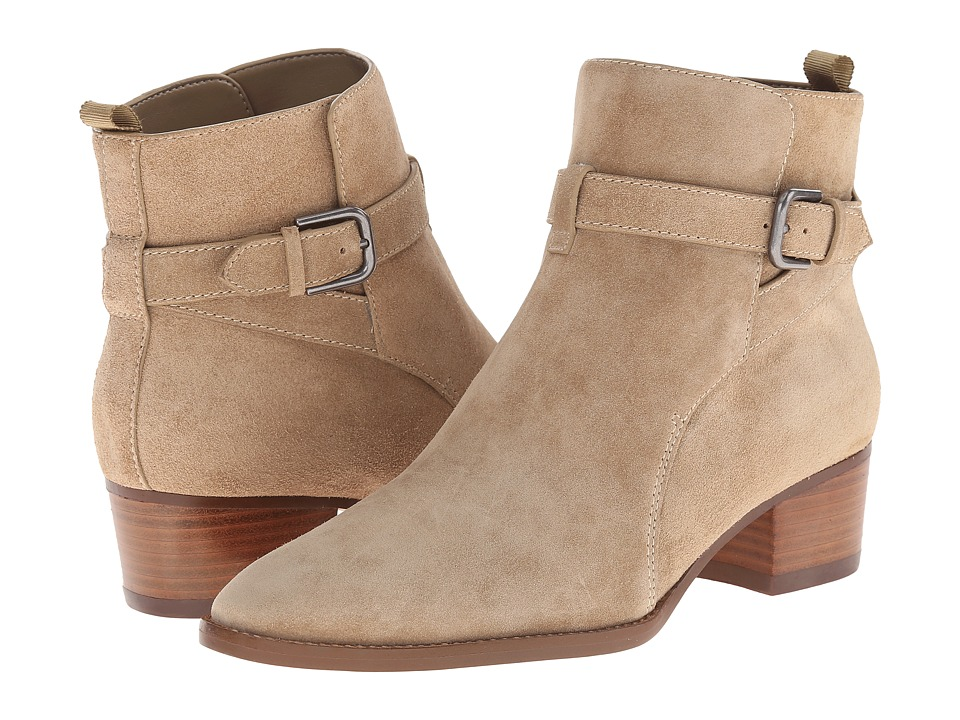 Marc Fisher LTD - Razzle (Light Natural Suede) Women's Dress Pull-on Boots