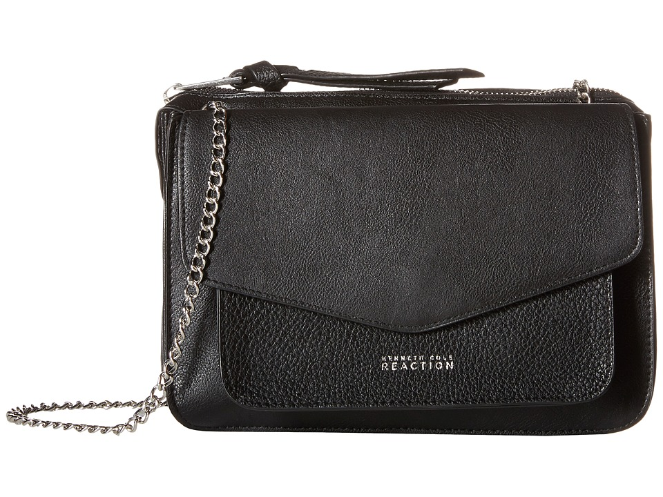 Kenneth Cole Reaction - Easy Peasy Mini Crossbody (Black Pebble) Cross Body Handbags