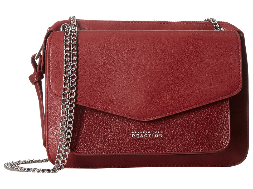 Kenneth Cole Reaction - Easy Peasy Mini Crossbody (Red Pebble) Cross Body Handbags