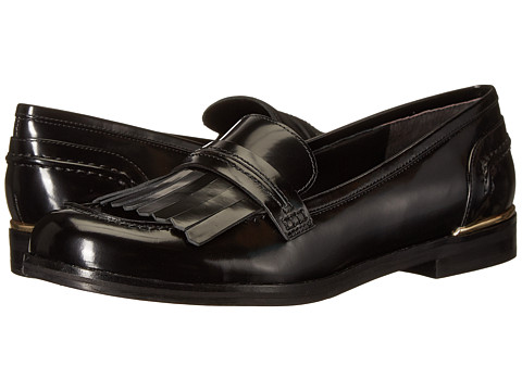 Marc Fisher LTD - Roryer (Black Polished Calf) Women's Slip-on Dress Shoes