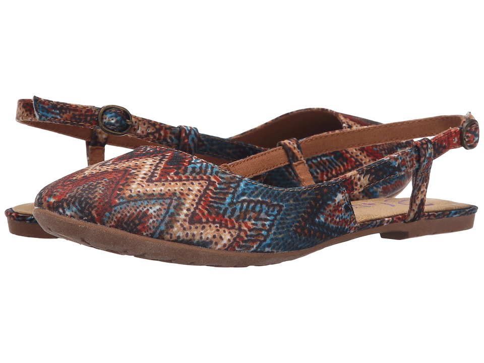 Blowfish Rumiko (Rust/Turquoise Palma Tribal Fabric) Women