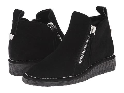Marc Fisher LTD - Sydney (Black Sport Tamarin) Women's Zip Boots
