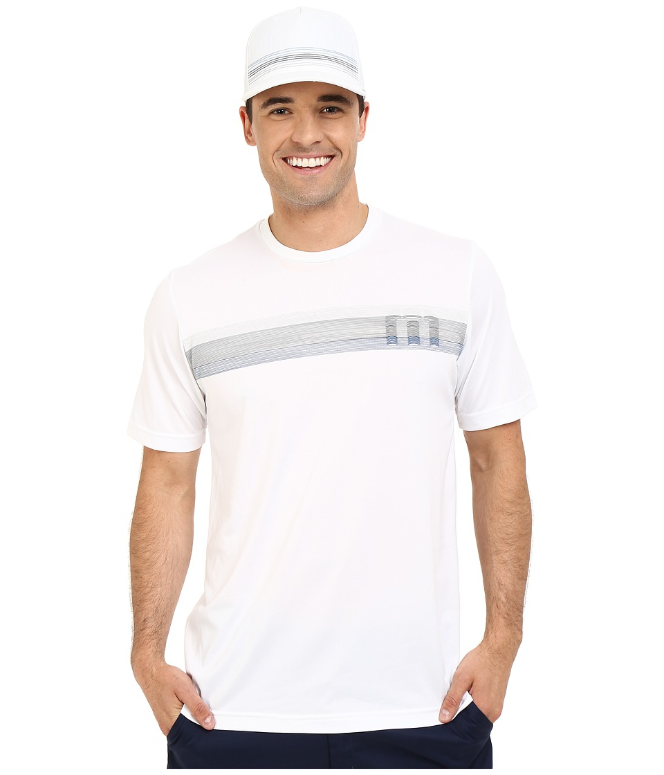 TravisMathew - K Sabe Shirt (White) Men's T Shirt