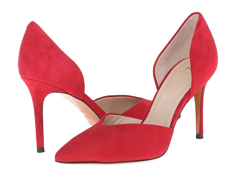Marc Fisher LTD - Tammy (Paradise Red Kid Suede) High Heels