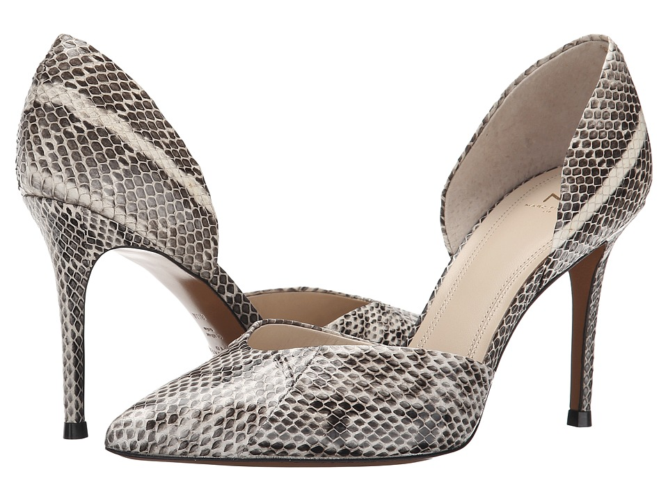 Marc Fisher LTD - Tammy S (Beige Modern Snake/Black) High Heels