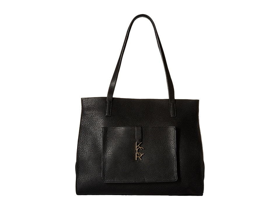 Kenneth Cole Reaction - Letterman Shopper (Black) Handbags