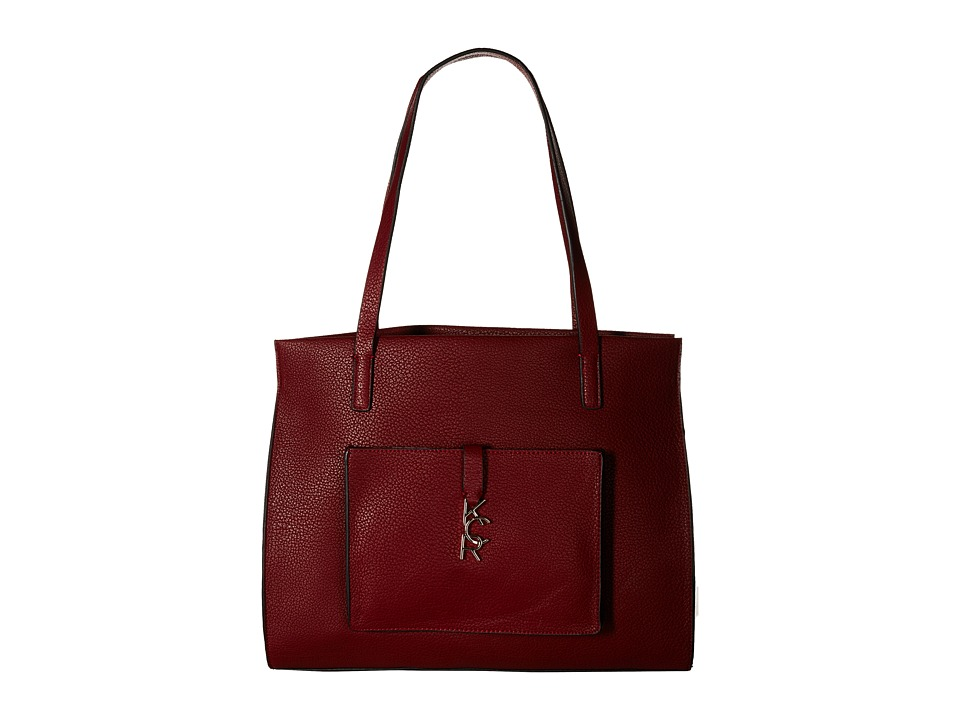 Kenneth Cole Reaction - Letterman Shopper (Bright Red) Handbags