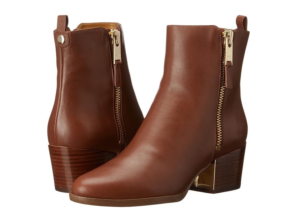 Marc Fisher LTD - Bartly (Dark Tan Cordoba) Women's Zip Boots
