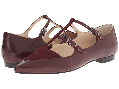 Marc Fisher LTD - Shane (Bordo Cannon Calf/Burgundy) Women