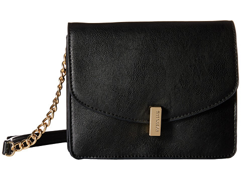 Kenneth Cole Reaction - Winged Victory Chain Flap (Black 2) Cross Body Handbags