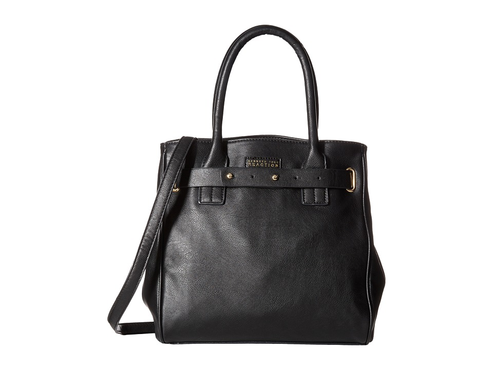 Kenneth Cole Reaction - Winged Victory Satchel (Black) Satchel Handbags
