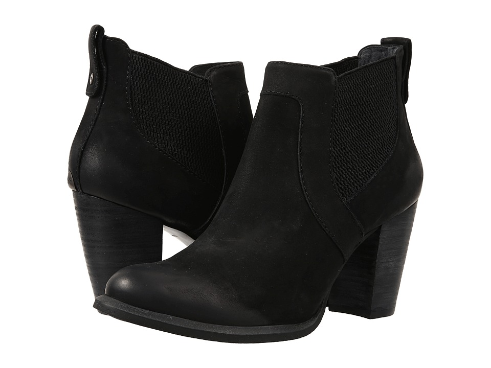 UGG - Cobie (Black/Water Resistant Leather) High Heels