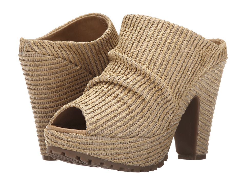 Blowfish Vello (Natural Romans Straw) High Heels
