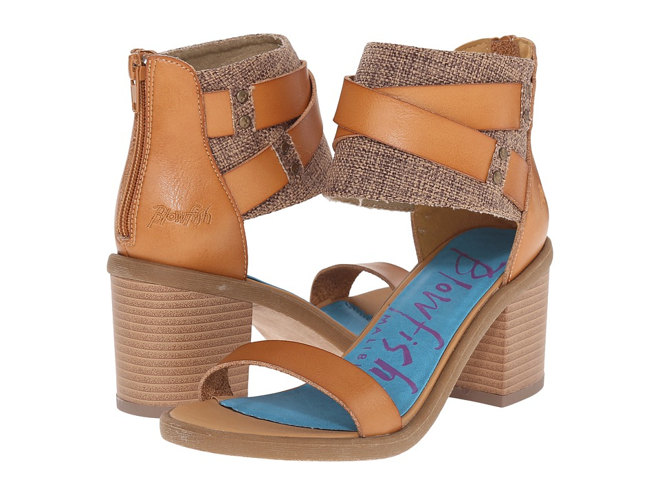 Blowfish Melvin (Desert Sand Dyecut/Natural Feedbag Canvas) High Heels