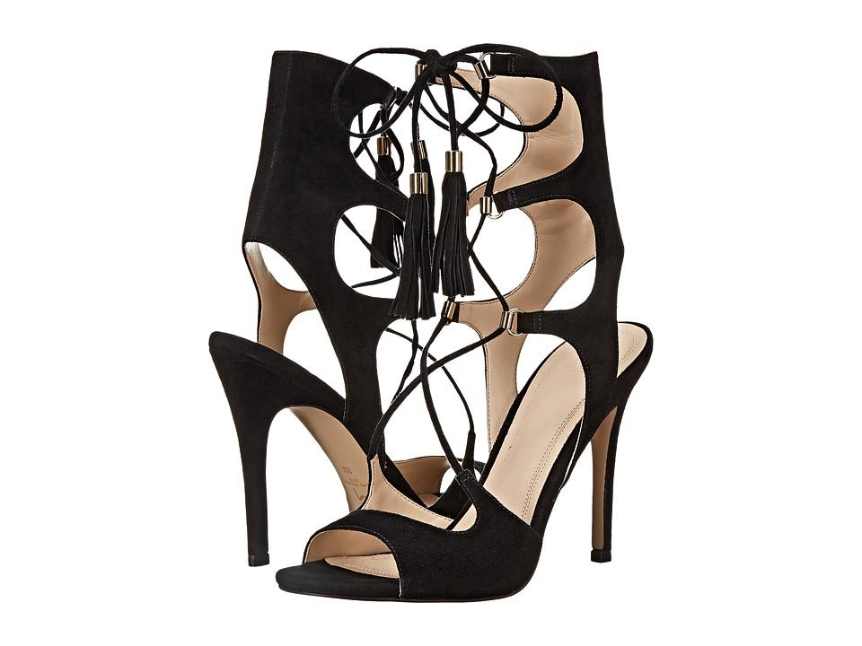 Marc Fisher LTD - Larsa (Black Savoy Suede) Women's Shoes