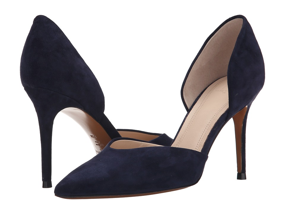 Marc Fisher LTD - Tammy (Deep Baltic Kid Suede) High Heels
