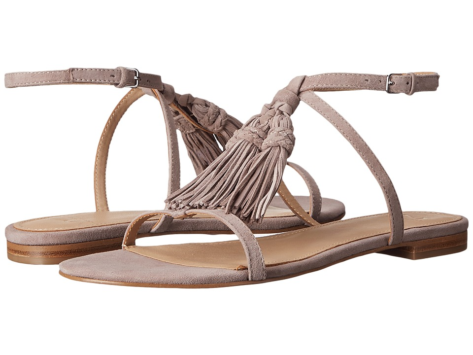 Marc Fisher LTD - Crystal (Light Khaki Savoy Suede) Women's Sandals