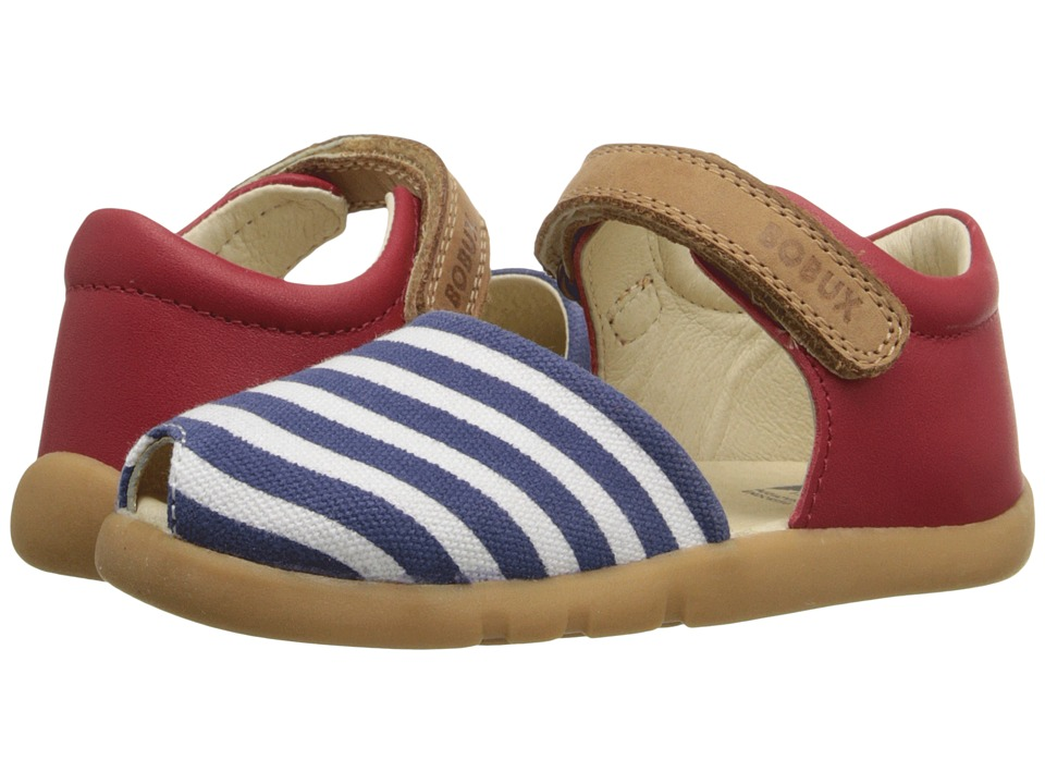 Bobux Kids - I-Walk Classic Twist (Toddler) (Red/Navy/White) Girl's Shoes