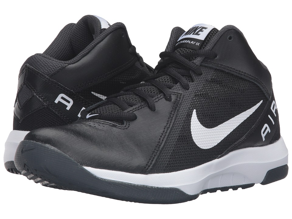 Nike - Air Overplay IX (Black/Anthracite/Dark Grey/White) Women's Basketball Shoes