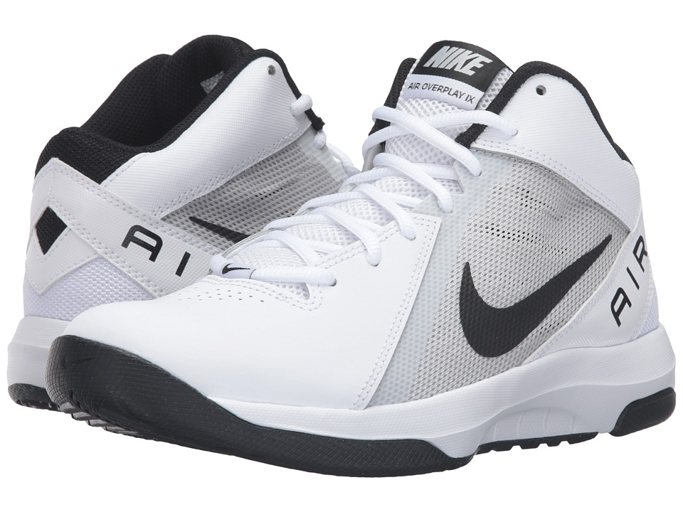 Nike - Air Overplay IX (White/Pure Platinum/Black) Women's Basketball Shoes