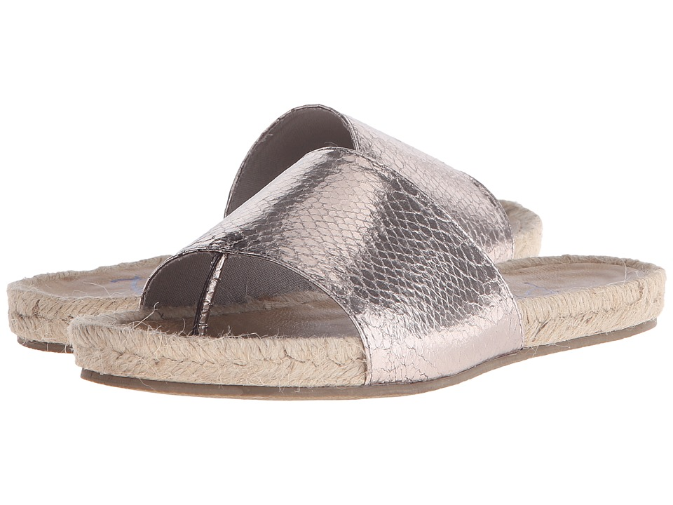 Blowfish - Glore (Pewter Metallic Snake Pit) Women's Sandals