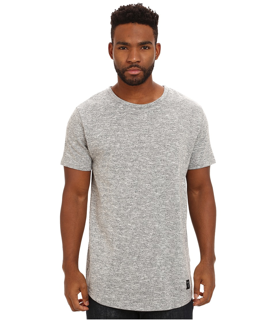 Image of Akomplice - Ashland Fleece SC/SW Tee (Light Grey) Men's T Shirt