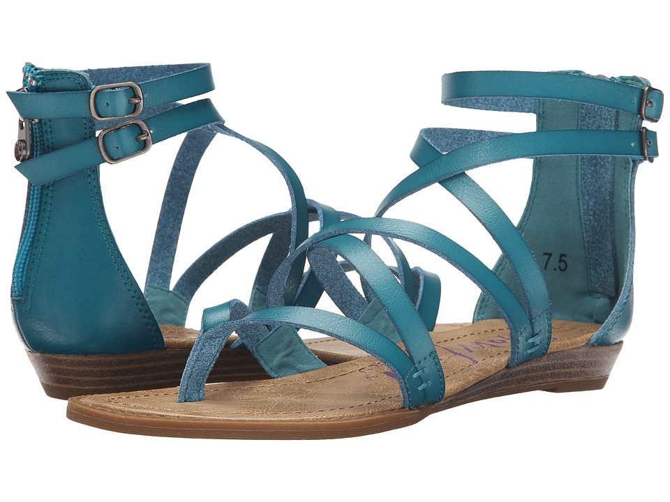 Blowfish - Bungalow (Lagoon Dyecut PU) Women's Sandals