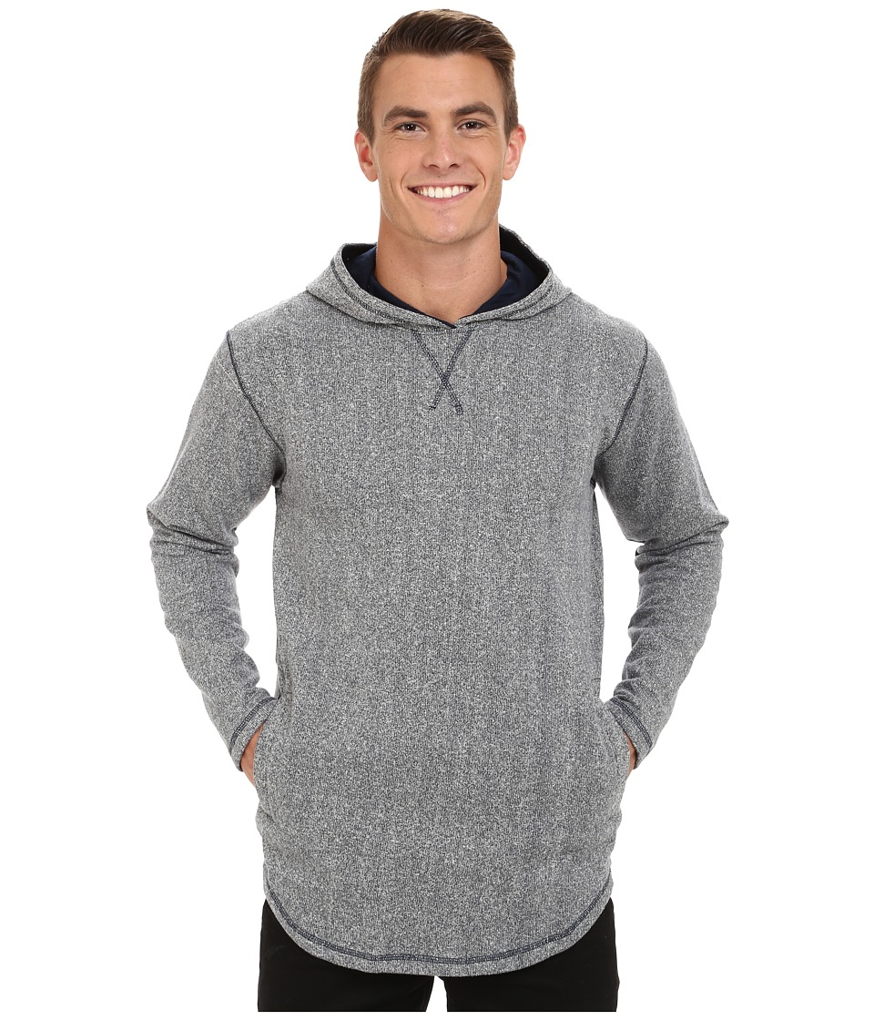 Akomplice - Grain SC Hoodie (Grey) Men's Sweatshirt