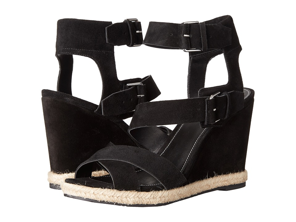 Marc Fisher LTD - Karla (Black Sport Tamarin) Women's Wedge Shoes